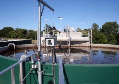 Creysse station eaux usées