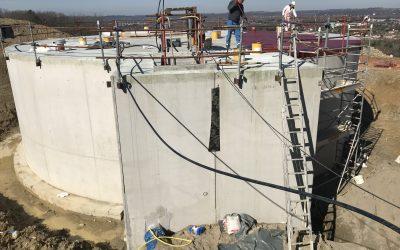 Augmentation de la capacité de stockage du réservoir du Buscon sur le territoire de l'Agglomération d'Agen (47)