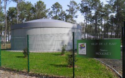 Création d'ouvrages et d'équipements pour la mise en service du forage de Mougnet sur la commune de Le Barp