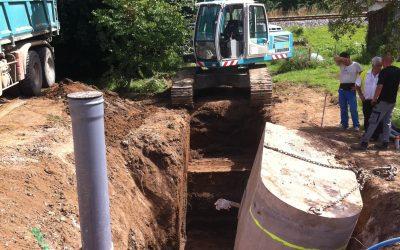 Extension du réseau de collecte des eaux usées de la commune de Lalinde (secteurs Lalinde Nord et Sauveboeuf)