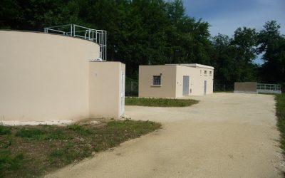 Forage du pont de la Beauze et reconfiguration des installations de production d'eau potable (Communauté de communes du Pays Foyen)